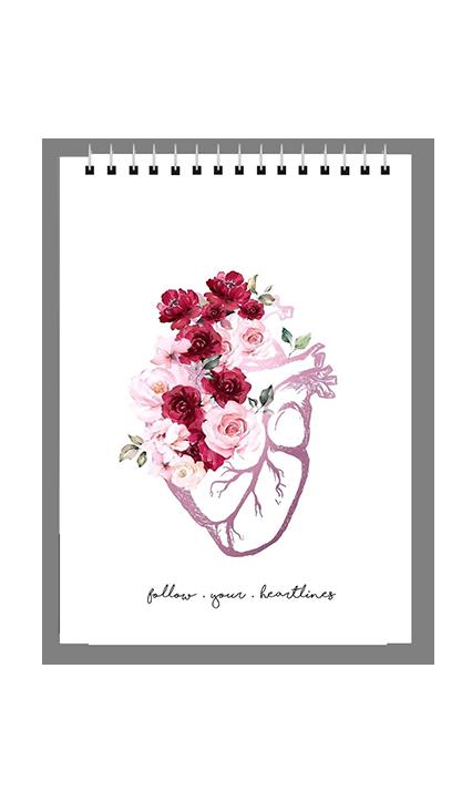طرح قلب سفید