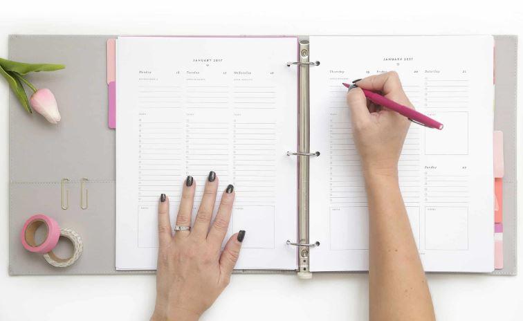 برنامه ریزی برای جز به جز از کارهای روزانه